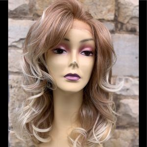 Accessories - Blonde Full lace  Wig 2020 hairstyle Fulllace Wig